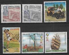 1983 Paraguay 8v. Stroesner-auto-juegos Olimpicos-barcos-pinturas - Paraguay