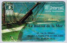 ENCHERE COURTE - < 24h - INTERCALL- Carte Prépayée De France Avec Code (gratté Ou Non) + N° De Série - Voir Scans état - - France