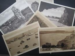 LOT 6 CP FRANCE (V2003) CAMARET 29 (7 Vues) Pointe Vauban, Des Pois, De Dinan, Menhirs, Toulinguet, ... - Camaret-sur-Mer