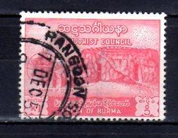 1954 Burma / Maynmar 6 Th Buddism Congress Rangun Used Mi 158 Monks From Sri Lanka In Temple Of St. Zahnes In Kandy - Buddhism