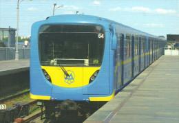 UNDERGROUND * SUBWAY * METRO * RAIL RAILWAY * RAILROAD TRAIN * STATION DNIPRO * KIEV * UKRAINE * Top Card 0393 * Hungary - Métro