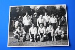 1930 Joueurs Equipe I De Football à Marseille Photographie Photo Originale-Photographie Photos Sport 2 Place Du Change - Sport