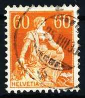 SCHWEIZ 1917 Nr 140z Gestempelt X4C63BE - Gebraucht