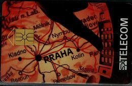 CZECHOSLOVAKIA  1996 PHONECARD PRAHA USED VF!! - Tchécoslovaquie