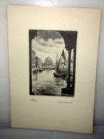 BELLINI TRIESTE CANAL GRANDE - Trade Cards