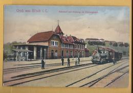 C.P.A.Gruss Aus BITSCH - Bahnhof - Bitche
