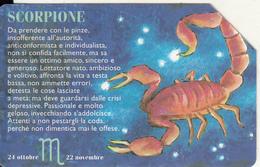 SAN MARINO - Zodiac/Scorpio(HD), Tirage 25000, 03/98, Used - San Marino
