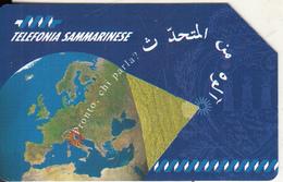 SAN MARINO - Pronto Chi Parla/Egypt-Pyramids(EC), Tirage 30000, 04/97, Used - San Marino