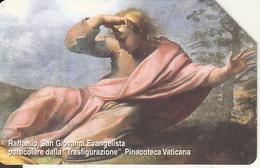VATICAN - Raffaello/San Giovanni Evangelista(101), Tirage 8000, Exp.date 01/09/04, Used - Vaticano (Ciudad Del)