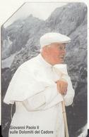 VATICAN - Giovanni Paolo II Sulle Dolomiti Del Cadore(100), Tirage 8000, Exp.date 01/09/04, Used - Vatican
