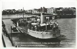 """/ CPSM FRANCE 33 """"Port Autonome De Bordeaux, Le Bac De Royan"""" - Bordeaux"""