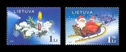 Lithuania 2005 Mih. 891/92 Christmas And New Year MNH ** - Lithuania