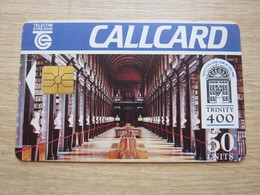 Chip Phonecard, Trinity College 400 Years,Gemplus Chip,used - Irlande