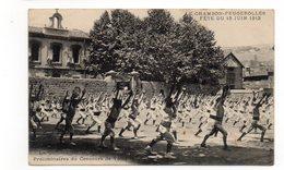42 - LE CHAMBON FEUGEROLLES - Fête Du 15 Juin 1913 - Préliminaire Du Concours De Vichy - Très Animée - 1914 (A117) - Le Chambon Feugerolles