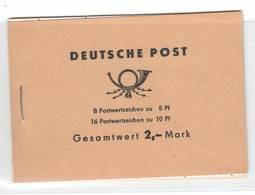 DDR , Markenheftchen 4 C Postfrisch - Markenheftchen