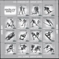 Russia 2014 Sochi Olympic Games Souvenir Sheet    MNH/** (LAR-H35) - Winter 2014: Sotschi