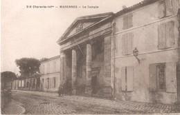 MARENNES - Le Temple Protestant - Rue De La République - Marennes