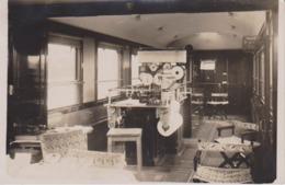 ANGOULEME - Chemin De Fer - 1932 - Interieur D'un Wagon - Rare Carte Photo - Angouleme