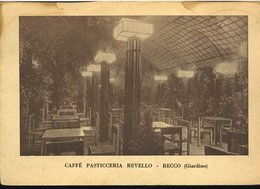 RC348 RECCO - CAFFE PASTICCERIA REVELLO , GIARDINO - Italy