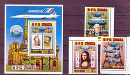 Corée Du Nord, DPR KOrea Bloc Et Timbres Philexfrance 1982 Neufs ** MNH Sin Charnela - Corea Del Nord