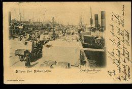 Hilsen Fra Kobenhavn Kvaesthus Broen Corneliussens Forlag 1903 Pionnière Animée - Danemark