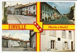 54370 EINVILLE - Multivues - Rue Karquel, Grande Rue, Mairie, Maison Natale Du Card. Mathieu - Verso Scanné - Other Municipalities
