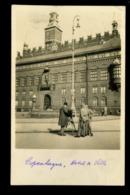 Kobenhavn Hotel De Ville Raadhuset Photographe Carte Photo Animée 1922 - Danemark
