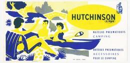 Buvard 21 X 10.2 HUTCHINSON à L'Aigle Matelas Pneumatiques Camping Bateaux  Pneumatiques Illustrateur Guion - Sports