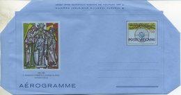 VATICANO  - AEROGRAMMA N. 23 - ANNO 1989  - SAN FRANCESCO E SANTA CATERINA - LIRE 750 - NUOVO - Interi Postali