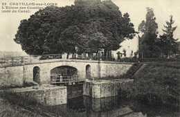 Chatillon Sur Loire  L'Ecluse Des Combles (Coté Du Canal)  RV - Chatillon Sur Loire