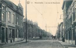 Belgique - Charleroi - Marcinelle - La Rue De Beaumont - Charleroi