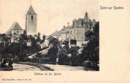 Belgique - Erquelinnes - Solre-sur-Sambre - Château Du Dr Berlier - Nels Série 10 N° 102 - Erquelinnes