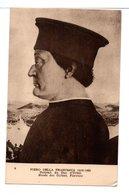 CPA - PORTRAIT DU DUC ET LA DUCHESSE D'URBIN (PIERO DELLA FRANCESCA) -2 Cartes - Malerei & Gemälde