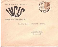 BUSTA INCIS OFFICINA MECCANICA VIGEVANO - 6. 1946-.. Republic