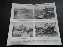 "Origineel Knipsel ( 3634 ) Uit Tijdschrift "" Ons Volk "" 1926 :   Vliegtuig  Wolverthem  Wolvertem - Non Classés"