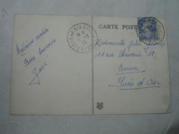 Ria Pyrenees Orientales Facteur Boitier Obliteration Sur Lettre - Postmark Collection (Covers)