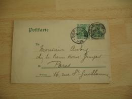 Dorlisheim Alsace Obliteration Sur Entier Postal Allemand Occupation Alsace - Marcofilie (Brieven)