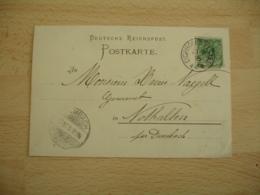 Eichhofen Elsass Obliteration Occupation Alsace Sur Lettre - Marcofilie (Brieven)