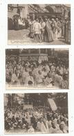 Cp , 65 , LOURDES , Congés Eucharistique 1914 , 3 Scans ,  LOT DE 9 CARTES ¨POSTALES - Lourdes