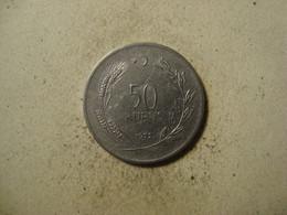 TURKEY   TURQUIE  5000  lira 1995 etat