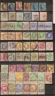 (Fb).Belgio.1851-1911.Lotto Di Francobolli Del Primo Periodo (cat. 360,00) (2 Scansioni) (48-15) - Belgio