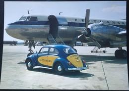 LUFTHANSA CONVAIR METROPOLITAN 1959 RUTA BARCELONA FRANKFURT. - Aerodromes