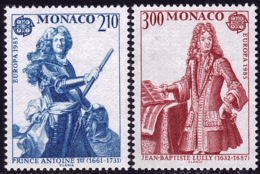 Monaco - Europa CEPT 1985 - Yvert Nr. 1459/1460 - Michel Nr. 1681/1682  ** - 1985