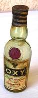 Rare Bouteille Mignonette Oxy Cusenier,no Cpa Absinthe - Mignonettes