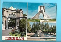 IRAN----TEHERAN--3 Views--multi-vues--voir 2 Scans - Irán