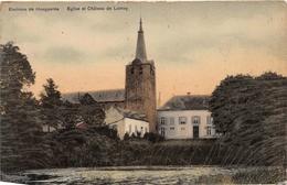 Eglise Et Château De Lumay - Environs De Hoegaerde - Hoegaarden