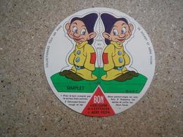 Mère Picon Les Amis De Mickey, Disney, 7 Nains, Simplet - Reklame