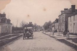 D72  Circuit De La Sarthe 1906   Sortie De SCEAUX SUR HUISNE - La Ferte Bernard