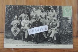 NOUMEA - LES SECRETAIRES DU BUREAU DU COMMANDANT - ANNEE 1916 - BELLE CARTE - Nouvelle Calédonie