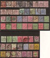 (Fb).Gran Bretagna.1855-1951.Lotto Misto.Valori Nuovi E Usati (3 Scan) (5-19) - Sammlungen